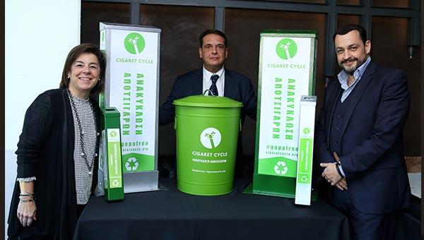 αποτσιγαρα ανακυκλωση γοπες αποτσιγαρων